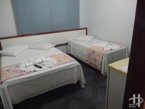 apartamento 1 cama de casal + 01 de solteiro